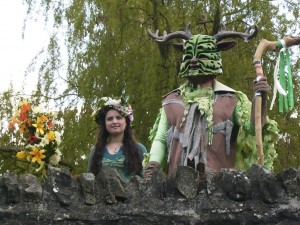 AH Shropshire Event : The GreenMan of Clun Festival.