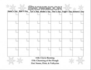 Printable Calendar