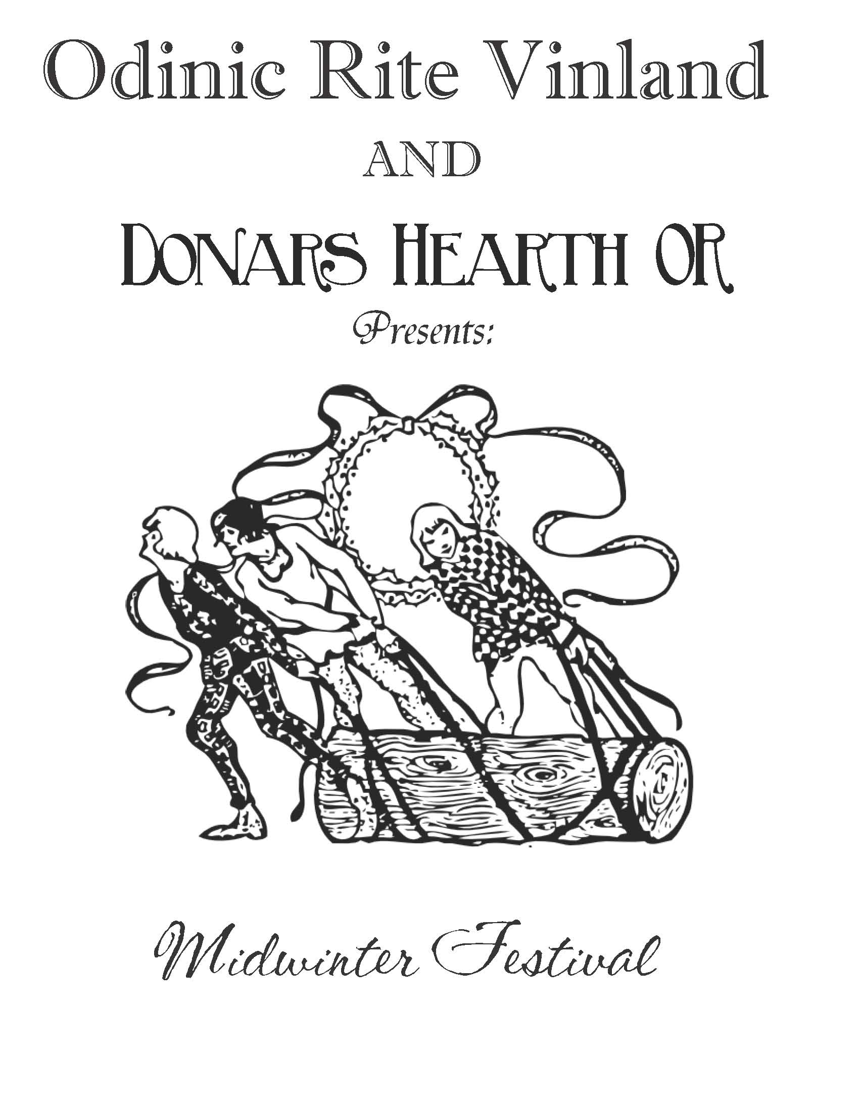 Donar's Hearth OR Yule Booklets