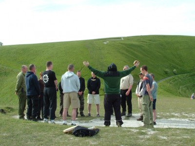 Swastika Rising Ritual on Dragon Hill
